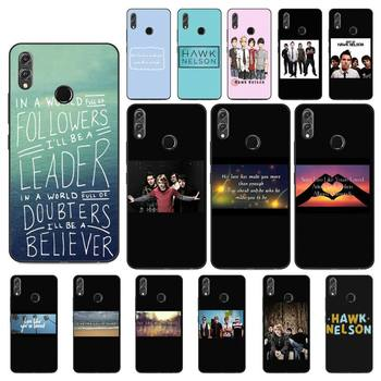FHNBLJ Hawk Nelson songs lyrics Luxury Unique Phone Cover For Huawei Honor 8X 8A 9 10 20 Lite 30Pro 7C 7A 10i 20i image