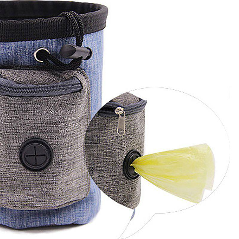 Dog Training Waist Bag Pet Portable Treat Pouch Obedience Agility Detachable Pocket For Snack Reward