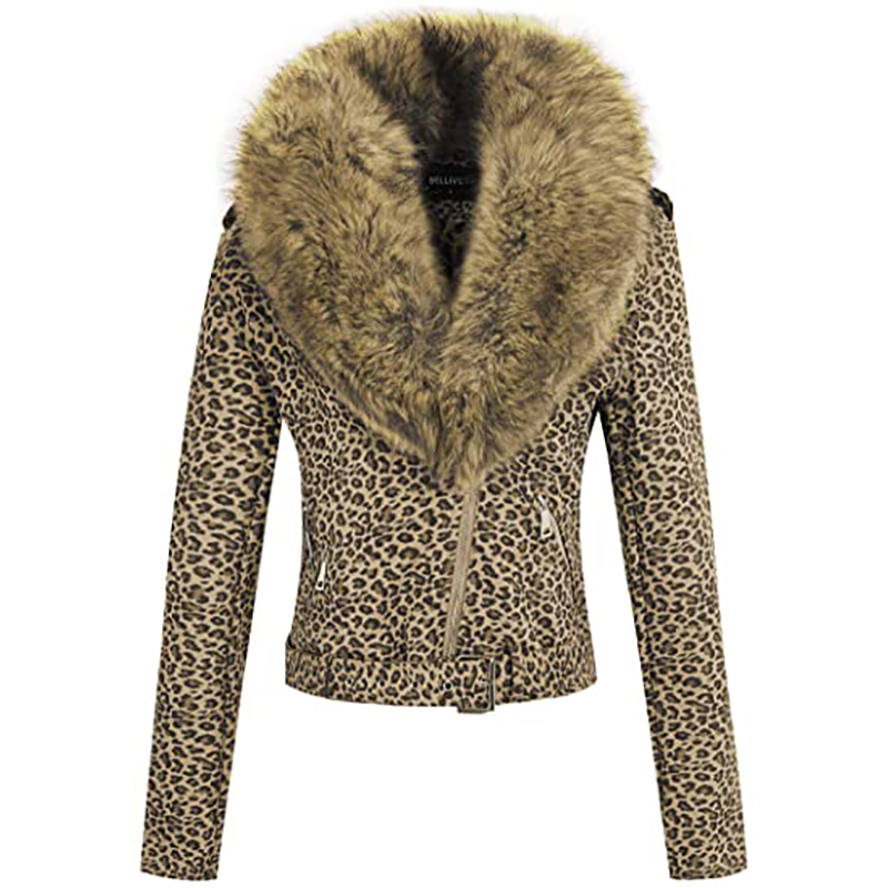 H12401509653e450e989a33a9ca0b6568b Giolshon 2021 New Winter Women Thick Warm Faux Suede Jacket Coat With Belt Detachable Faux Fur Collar Leather Jackets Outwear