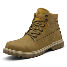 Winter Men Shoes Military Boots Unisex Outdoor Ankle Boots Snow Boots