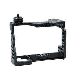 DSLR Camera Cage with Arri Locating Hole 4/1 8/3 Threads Hole for Sony A9 A7M3 A7R3 A7R III A7M III