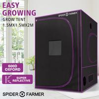 5'x5' 150x150x200 cm Plant Grow Tent Spider Farmer Growing Tent For Indoor Grow Light Accessories Hydroponic Reflective Oxford