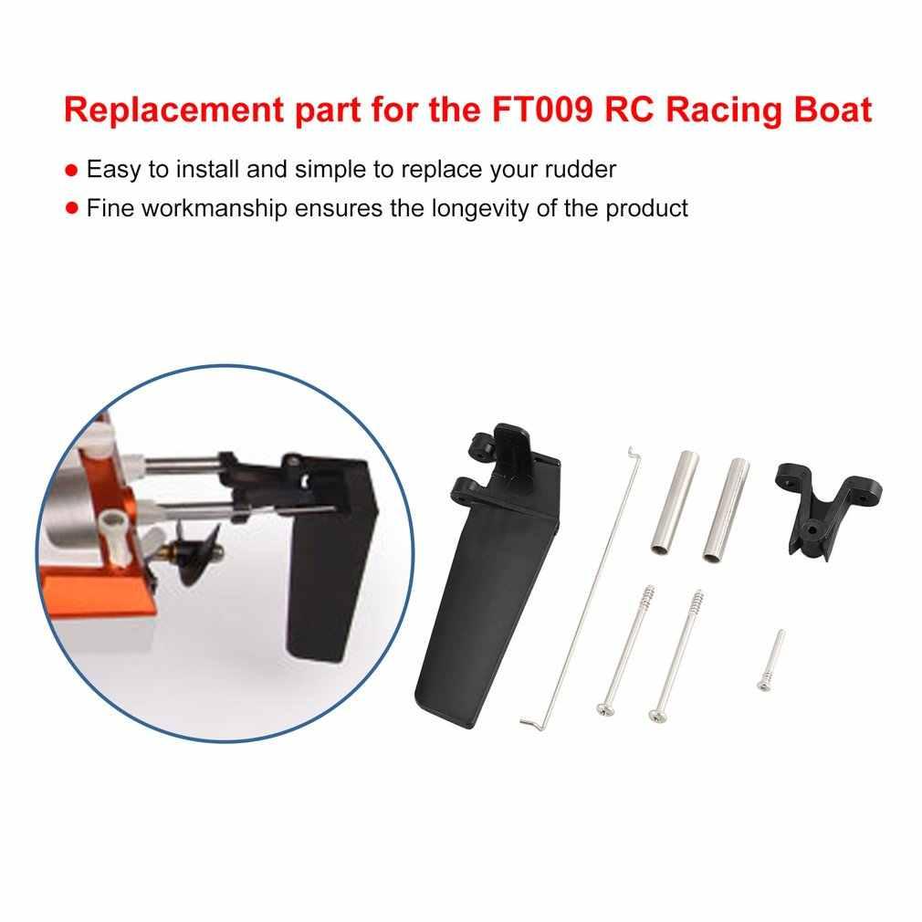 FT009-7 accesorios Kit de accesorios para componentes de timón trasero de dirección para Feilun FT009 RC Barco de carreras piezas de repuesto Speedboat Accs