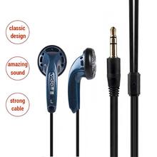 Vido wysokiej jakości słuchawki przewodowe Soundtrack zestaw słuchawkowy Stereo zestaw słuchawkowy do gier Bass Bass słuchawki douszne słuchawki sportowe tanie tanio int box pro Zaczepiane na uchu NONE Inne CN (pochodzenie) PRZEWODOWY 120 plusmn 3dB Brak mW 1 2m Zwykłe słuchawki do telefonu komórkowego