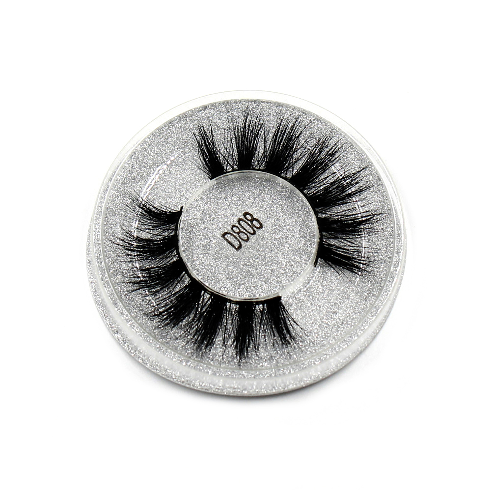 Image 2 - AMAOLASH 3D Mink Lashes Cruelty Free Mink False Eyelashes Natural Handmade Eyelash Extension Makeup Fake Eye Lashes-in False Eyelashes from Beauty & Health