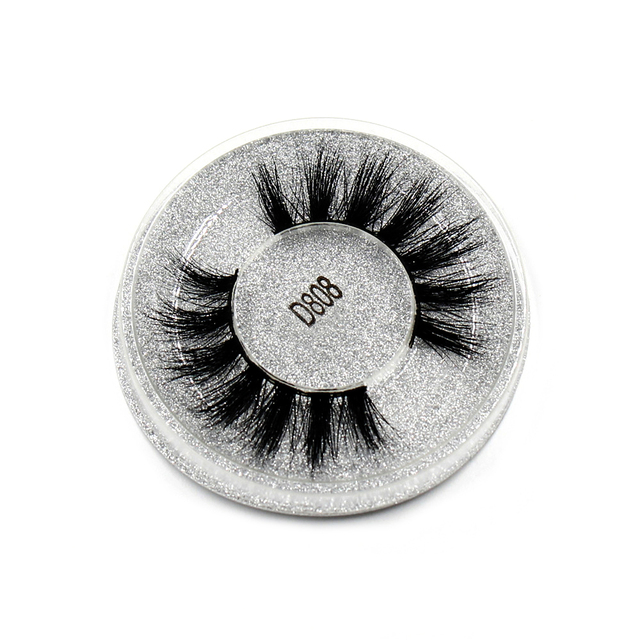 AMAOLASH 3D Mink Lashes Cruelty Free Mink False Eyelashes Natural Handmade Eyelash Extension Makeup Fake Eye Lashes 1