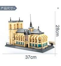 Bloques de construcción de arquitectura clásica de fama mundial, tian an men /tian tan temple/Torre de aprendizaje/juguete coleccionable de spasskaya
