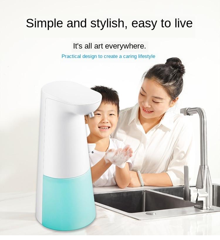 H12413c952ed44d0a8b9970c5ab1bd879a Automatic Foam Soap Dispenser Infrared Sensing Foam Soap Dispenser Induction Liquid Soap Dispenser For Bathroom Kitchen Hotel