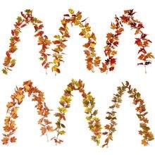 Недорогие аксессуары для декора в виде кленовых листьев 175