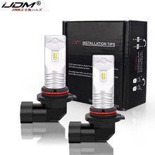 IJDM Super Bright 6-SMD CSP 6000K Xenon White 9005 HB3 9006 HB2 LED żarówki do samochodu żarówki do lamp przeciwmgielnych i Auto DRL Foglamp 12V