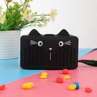 mini wireless bluetooth Cartoon Bluetooth audio speaker portable Mini Cat wireless HD Clear Sound subwoofer Support FM Radio TF Card & U Disk (2)