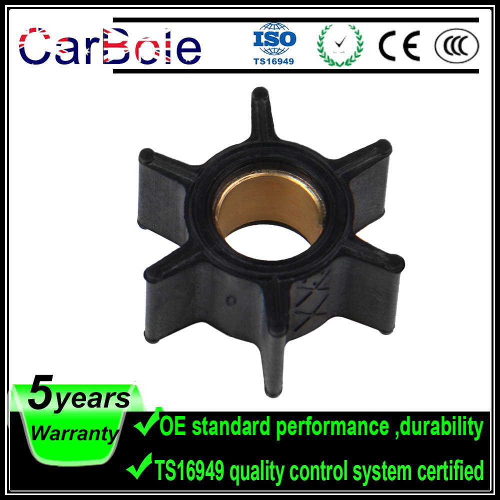 CARBOLE 47-89980 47-68988 18-3054 Boat Engine Impeller For Mercury Mariner 3.5HP 3.6HP 4HP Outboard Motor Quicksilver Water Pump