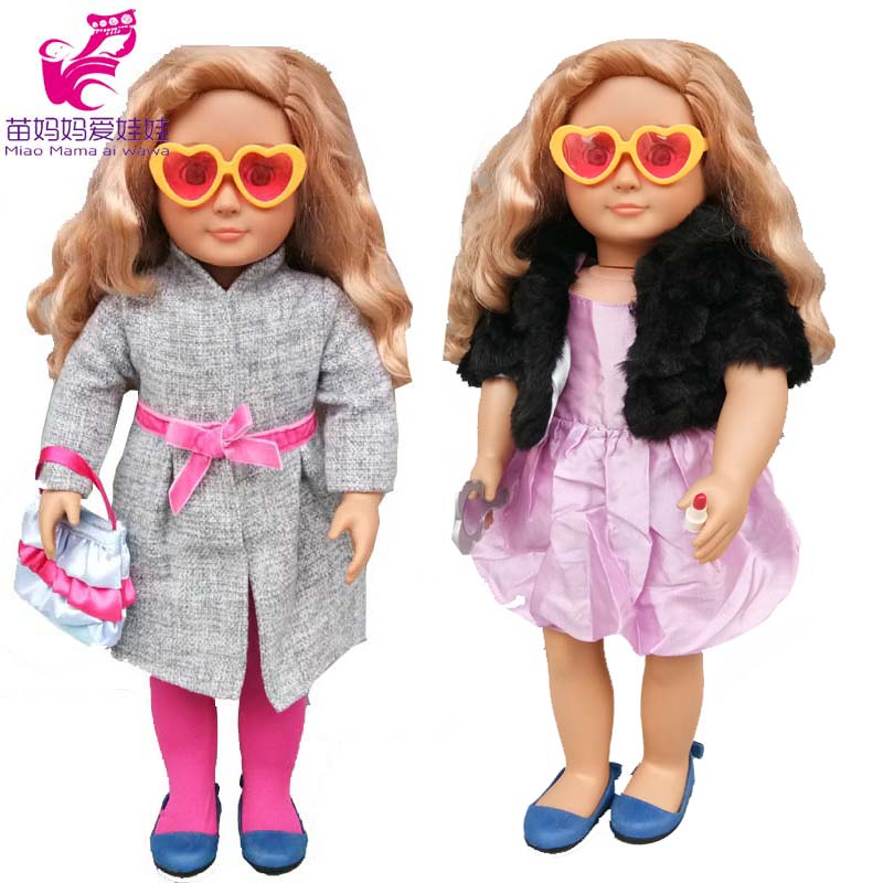 18 Inch Doll Clothes  Windbreaker Also Fit For 43cm Baby Doll Outfit Wear