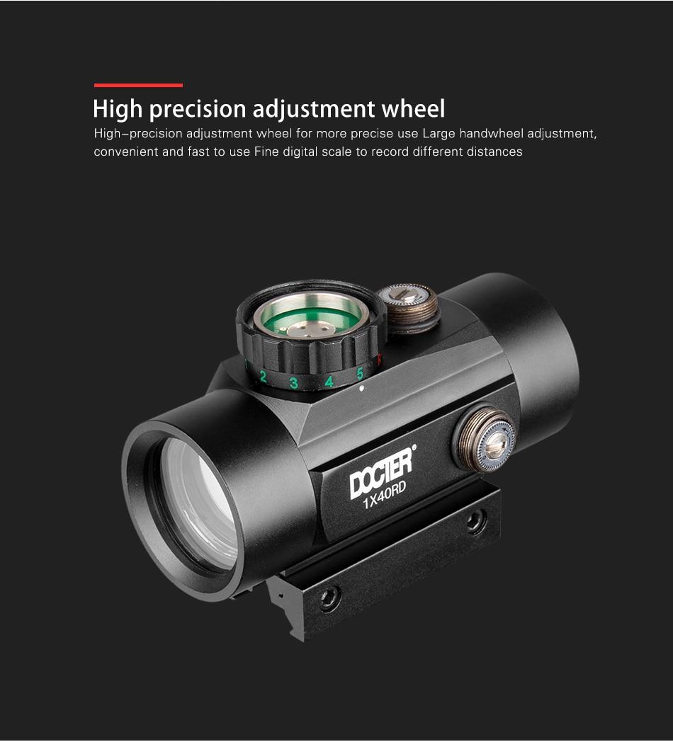 3x lupa holográfica 1x40 verde dot sight