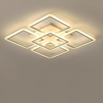 Modern LED Chandelier Ceiling chandeliers Lighting For Living Room Bedroom kitchen Lustre With Remote Control Fixture Lights 1
