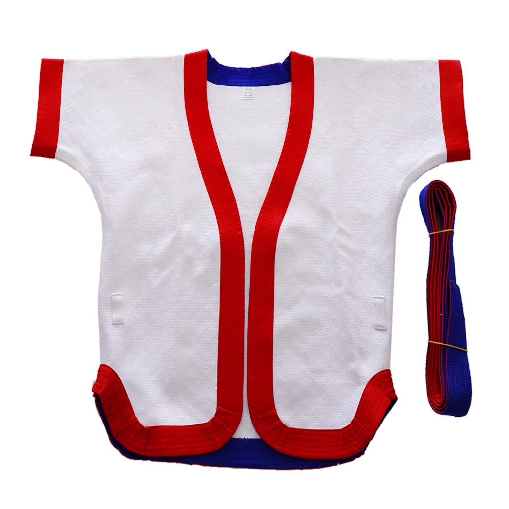 Lightweight Chinese Kungfu Wrestling Uniform Top Suit For Men Women Kids Juniors