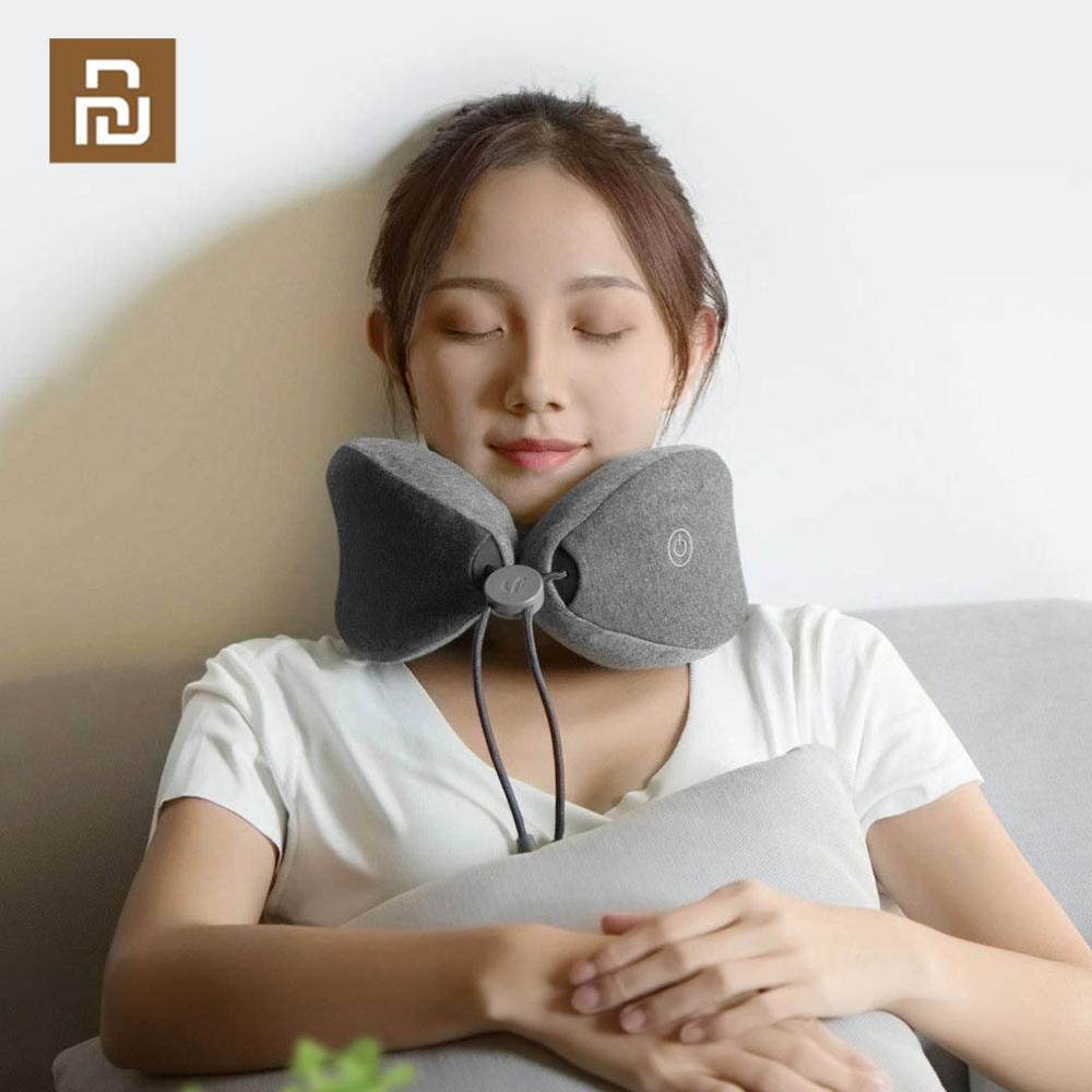 Newest YOUPIN LeFan Neck Sleep Massage Pillow, Neck Relax Muscle Therapy Massager Sleep pillow for office ,home and travelSmart Remote Control   -