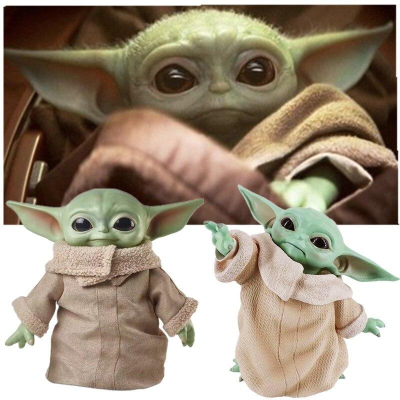 8CM/16CM/30CM Star Wars Glow Yodaing Baby Action Figure Toys Yodaing Figure Toys Yodaing Master Figuras Dolls Toy Gifts Children