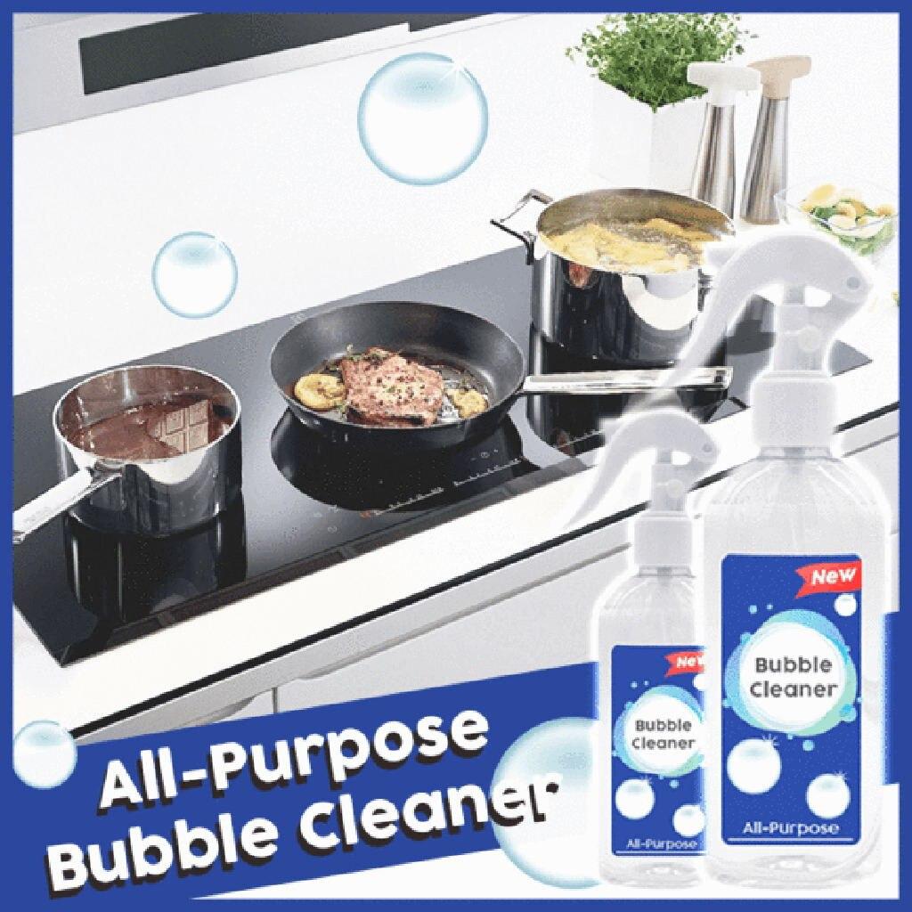 Пузырьковый очиститель, кухонная смазка, многофункциональный пенный очиститель с ароматом лаванды, кухонные инструменты 200 мл, инструменты...