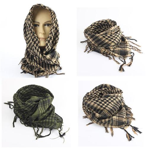 2020 Unisex Lightweight Plaid Tassel Arab Desert Shemagh KeffIyeh Scarf Wrap Pashmina Super Soft And Light Weight Christmas Gift