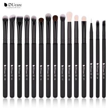 DUcare  Black Makeup brushes set Professional Natural goat hair brushes Foundation Powder Contour Eyeshadow make up brushes - DU-E1503, Poland