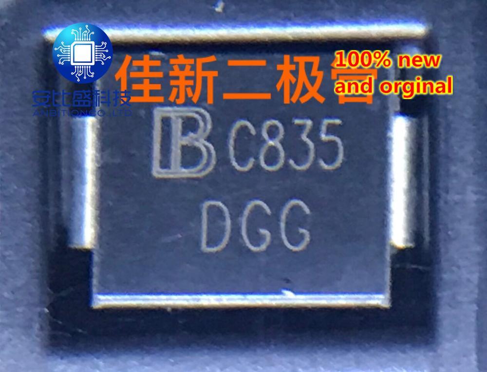25pcs 100% New And Orginal SMDJ58CA 58V High Power Bidirectional TVS Diode DO-214AB Silk Screen DGG  In Stock