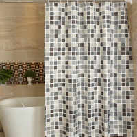 Plaid Bathroom Curtain Waterproof Shower Curtains for Bathroom Cortina Ducha Rideau De Douche Douchegordijn