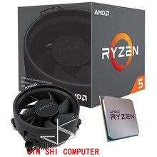 Nuevo AMD Ryzen 5 3400G R5 3400G 3,7 ГГц cuatro nukleos ocho hilos 65 Вт CPU procesador YD3400C5M4MFH Socket AM4 con ventilador или