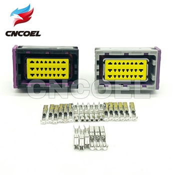 1 Set FCI ECU Connector 24 Pin 24 Way Female Housing Sealed Plug Socket connectors 211PC249S8005