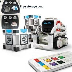 Cozmo robô de alta tecnologia brinquedos robô cozmo inteligência artificial voz interação familiar educação precoce crianças brinquedo inteligente robô