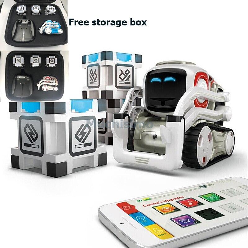 Robot Cozmo juguetes de alta tecnología Robot Cozmo Inteligencia Artificial voz familia interacción educación temprana niños Robot de juguete inteligente