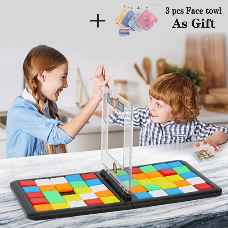 Magic Building Blocks Game Toy Fun Board Game Frame Connection Magic Family Party Game Education Toy Childrens birthday giftsPuzzles   -