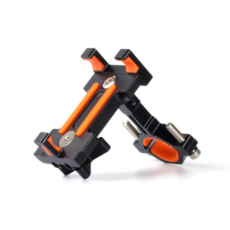 Bicycle New Aluminum Alloy Fixed Mobile Phone Navigation Bracket Can 360 Degree Rotation Bike Holder