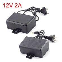 CCTV Camera Power Supply Adaptor AC/DC 12V 2A 2000ma Outdoor Waterproo