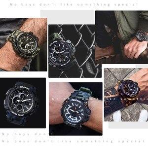 Image 5 - LEDนาฬิกาข้อมือควอตซ์Luxury SMAEL Coolชายนาฬิกานาฬิกาดิจิตอลนาฬิกาทหาร 1708 กันน้ำกีฬานาฬิกาสำหรับชาย