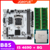 Kit de placa base B85 LGA 1155, 4690 con procesador Intel core I5, memoria RAM de 8G(2x4G), USB 3,0, sata3.0, mini-dtx, B85I-PLUS