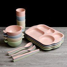 6 шт/компл набор посуды для детского завтрака вилка и ложка