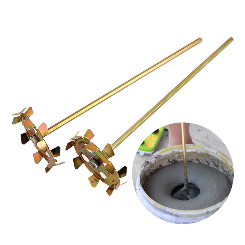 Industrial Electric Stirring Rod Electric Drill Paint Putty Split Handheld Paint Cement Plaster Mortar Coating Mixer Machine