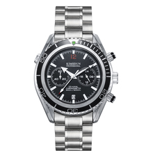 New Top Brand KIMSDUN  Watch Mens Fashion Steel Strap Multi-function Chronograph Calendar Quartz Men relogio masculino