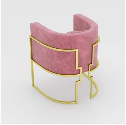 Чистый красный мраморный Маникюрный Стол И Набор стульев, одиночный двойной золотой железный двухэтажный Маникюрный Стол, простой и роскошный светильник - Цвет: 4
