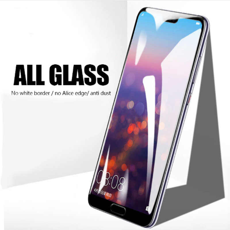 2 stücke Volle Abdeckung Sicherheit Glas Für Huawei P30 lite P20 lite P30 Pro P20Pro Screen Protector Film Für Hauwei p30 P20 Glas Rand zu