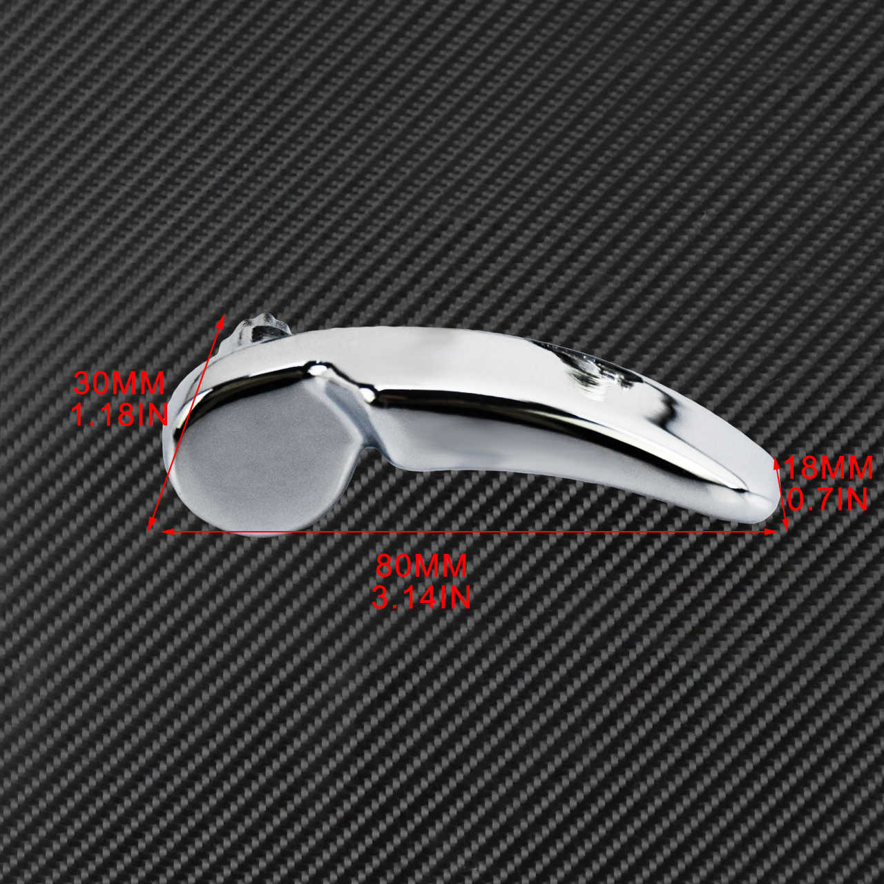 2 X Motor Pelana Tutup Lifter Aluminium Hitam/Chrome untuk Harley Touring Electra Glide Jalan Street Glide Jalan Raja 2014-2019