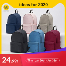NINETYGO 90FUN Young College Backpack School Bag for Girls and Women Colorful Couple Backpack