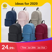 NINETYGO 90FUN Young College Backpack School Bag for Girls and Women Colorful Couple Backpack(China)
