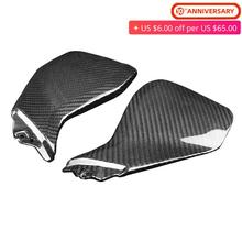 цена на For Yamaha MT09 FZ09 Carbon Fiber Gas Tank Side Tank Side Fairing Trim Moulding MT-09 FZ-09 MT FZ 09 2013 2014 2015 2016
