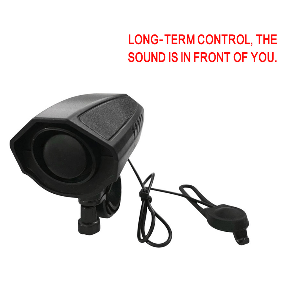 Image 5 - 123dB Electric Horn Loud Bike Bell Cycling Bicycle Handlebar Ring Bells Electric bisiklet horn Siren Alarm Riding Safety Bell-in Bicycle Bell from Sports & Entertainment