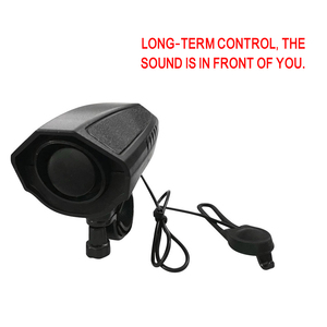Image 5 - 123db Electric Horn High Decibel Loud Bike Bell Cycling Bicycle Handlebar Ring Bell Electric horn Riding Safety Siren Alarm Bell