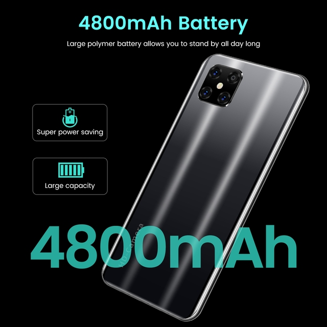 SOYES i13 Pro Android smartphones Big Battery 16MP Mobile phones Face ID unlocked GSM Blutooth wifi Cellphone Cheapest 4