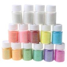 15 цветов Блестящий Кристалл эпоксидный наполнитель слизи краситель