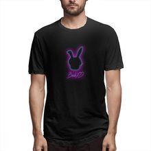 2019 Mens Short Sleeve T-shirt 3D Print t shirt Vaporwave Peace Cotton Funny homme Top Tees